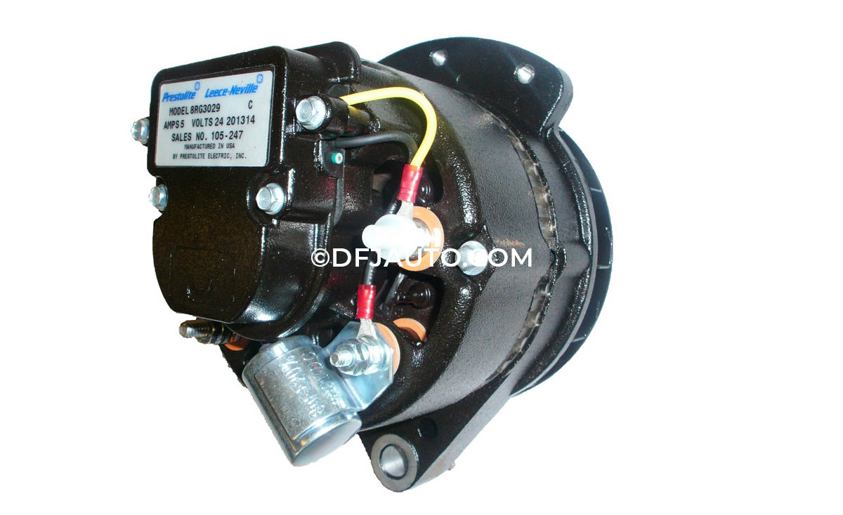 Dfj010370 Alternator Replaces Prestolite 12v 51a 110